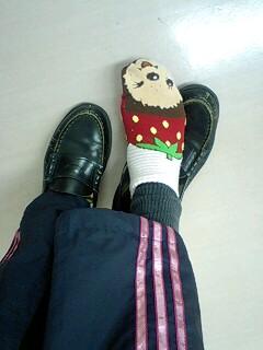 靴下on靴下